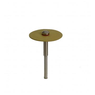 Інструмент для обробки прес-кераміки, диск 1мм, жовтий 1шт.