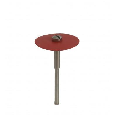 """Диск """"NAIS"""", для роботи з керамікою, 2 мм, червоний 1шт."""
