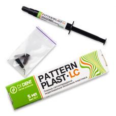 Patterplast  шприц 5мл. (3,5гр) Dident плинна світлотвердіюча моделювальна беззольна пластмаса