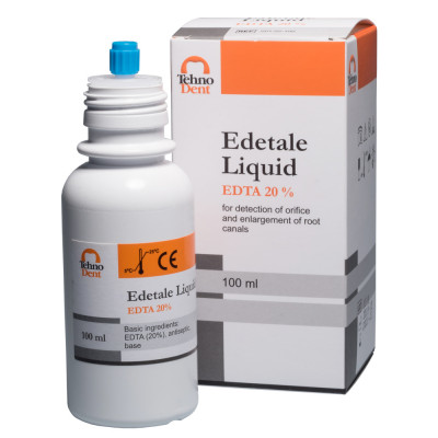 ЕДТА.20% рідина для обробки та виявлення кореневих каналів (100мл)