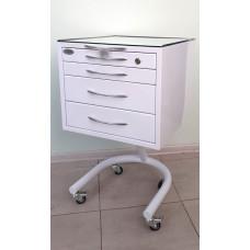 Столик пересувний з 4-ма ящиками
