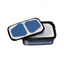 Світло полімерні пластини д/інд. ложок Omega-TRAY, blue 50st